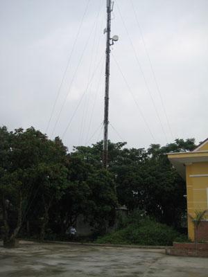 Trạm thu phát sóng Công ty HP