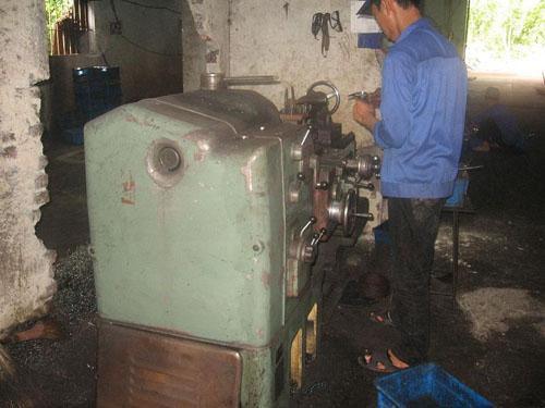Máy tiện WaSINO - Công ty TD - Thái Nguyên